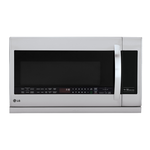 LMV2257ST Over the Range Microwave 400 CFM 2.2 Cu.Ft. Oven 30in -LG