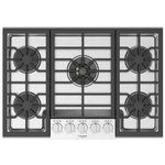 Gas Cooktop F5PGK305S1 Smoothtop Built-In 30in -Fulgor Milano