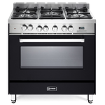 Dual Fuel Range VEFSGE365NE Sealed Burner 36in -Verona -Discontinued