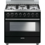 Gas Range C36GGNU Sealed Burner 36in -Smeg
