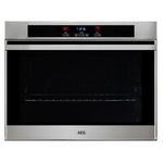 Built-In Wall Oven B3007BLG Single Wall Oven 30in -AEG