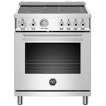 Induction Range PROF304INMXE Inductiontop 30in -Bertazzoni