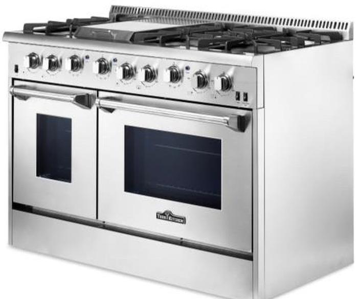Thor Kitchen Hrg4808u 48 Inch Gas Range Sealed Burners Aniksappliances