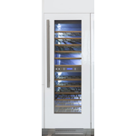 Wine Column Refrigerator REF24WCPRL 24in  Fully Integrated - Bertazzoni