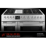 Fulgor Milano F6PDF486GS1 48in Dual Fuel Range Stainless Steel