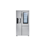 LG LSXC22396S 36in Side by Side Refrigerator, Stainless Steel