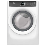 Electric Dryer EFMC427UIW Energy Star 27in -Electrolux
