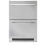 True Residential TUF24DSSB 24in Compact Freezer, Stainless Steel