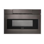 Sharp SMD2477AHC 24in Drawer Microwave Black Stainless