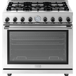 Gas Range RN361GPSS Sealed Burner 36in -Superiore