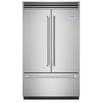 BlueStar BBBF361 36in French Door Refrigerator, Stainless Steel