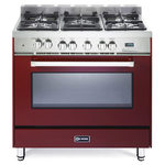 Dual Fuel Range VEFSGE365NBU Sealed Burner 36in -Verona -Discontinued