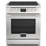 Gas Range F4PGR304S1 Sealed Burner 30in -Fulgor Milano