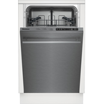Dishwasher DWS51500SS Energy Star Top Controls 18in -Blomberg