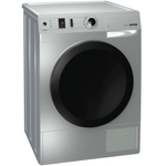Electric Dryer D8565NA Front Load Compact 24in -Gorenje