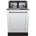 Built-In Dishwasher DWS51500FBI Energy Star Top Controls 18in -Blomberg