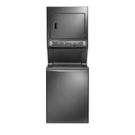 Frigidaire FFLE40C3QT 27in Stacked Washer Dryer Combo Platinum