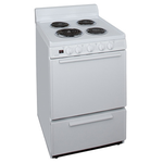 Electric Range ECK1000PO  24in -Premier