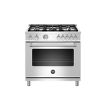 Gas Range MAST365GASXELP Sealed Burner 36in -Bertazzoni