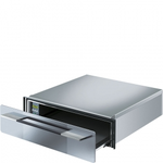 Electric Built-In Wall Oven CTU15S Warming Drawer 24in -Smeg