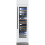 Wine Column Refrigerator REF18WCPRR 18in  Fully Integrated - Bertazzoni