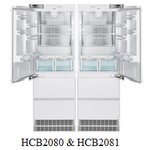 "Liebherr Fully Integrated 72"" Side By Side Fridge Freezer HCB2080 & HCB2081 Panel Ready"