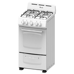 Gas Range GRO20P0W Sealed Burner 20in -Avanti