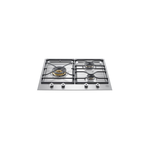 Gas Cooktop PMB24300X Sealed Burner Built-In 24in -Bertazzoni