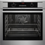 Single Wall Oven BCK330050M 24in -AEG