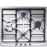 Gas Cooktop SR60GHU3 Sealed Burner Built-In 24in -Smeg