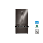LG LFCC22426D 36in French Door Refrigerator, Black Stainless