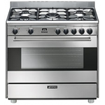 Dual Fuel Range S9GMXU9 Sealed Burner 36in -Smeg