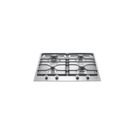 Gas Cooktop PM24400X Sealed Burner Built-In 24in -Bertazzoni