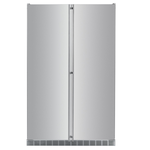 Side by Side Refrigerator SBS243 48in -Liebherr- check stock