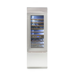 Wine Column Refrigerator REF18WCPRL 18in  Fully Integrated - Bertazzoni