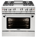 Gas Range MCR366N Sealed Burner 36in -Capital
