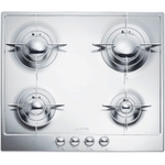 Gas Cooktop PU64ES Sealed Burner Built-In 24in -Smeg