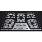 Gas Cooktop CTG30500SS Sealed Burner Built-In 30in -Blomberg
