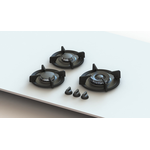 Gas Cooktop CAPITAL Sealed Burner Built-In 20in -Pitt
