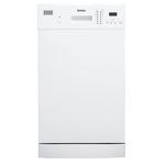 Dishwasher DDW1804EW Front Controls 18in -Danby