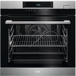 Single Wall Oven BSK774220M European 24in -AEG