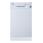 Built-In Dishwasher DW18D0WE Energy Star 18in -Avanti