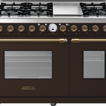 Superiore RD482SCMB 48in Dual Fuel Range Brown/Brown