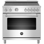 Induction Range MAST365INMXE Inductiontop 36in -Bertazzoni