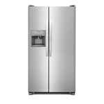 Side by Side Refrigerator FFSS2615TS 36in -Frigidaire
