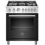 Gas Range MAST305GASNEE Sealed Burner 30in -Bertazzoni