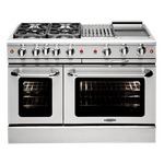 Gas Range MCR488N Sealed Burner 48in -Capital