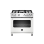 Dual Fuel Range MAST365DFMBIE Sealed Burner 36in -Bertazzoni