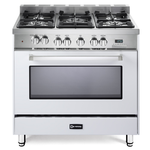 Dual Fuel Range VEFSGE365NW Sealed Burner 36in -Verona -Discontinued