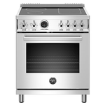 Induction Range PROF304INSXT 30in -Bertazzoni